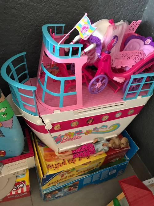 Bateau carrosse barbie annonce jeux jouets - Carrosse barbie ...