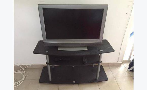 tv sony bravia 80 cm lecteur dvd meuble annonce. Black Bedroom Furniture Sets. Home Design Ideas