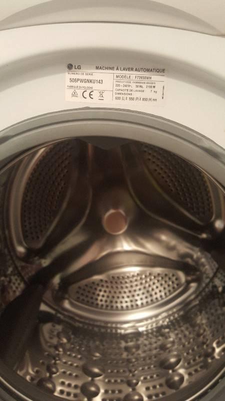 Lave Linge Lg 7 Kg 14 Mois Garantie En Cours Annonce