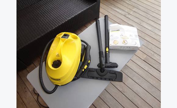 karcher steam cleaner classified ad household. Black Bedroom Furniture Sets. Home Design Ideas