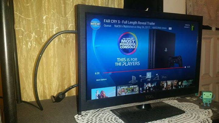 24 inch TCL HD Flat Screen TV