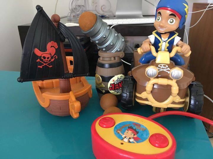 lot Jack le pirate - Annonce - Jeux - Jouets Gustavia Saint Barthélemy