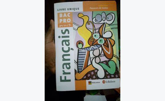 Livre De Francais Bac Pro 2nd 1re Tle