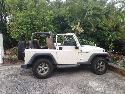 Jeep wrangler tj 4. 0 sport - Clified ad - Cars Gustavia Saint ...