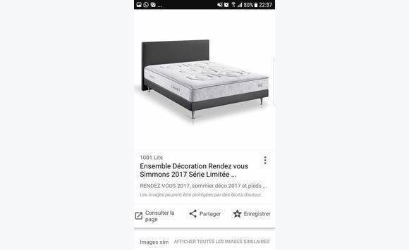 matelas simmons rendez vous great lit simmons de lit with. Black Bedroom Furniture Sets. Home Design Ideas