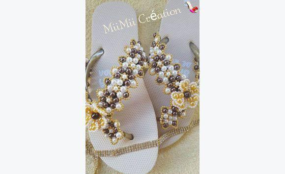 chaussure en perle fait main annonce chaussures le robert martinique. Black Bedroom Furniture Sets. Home Design Ideas