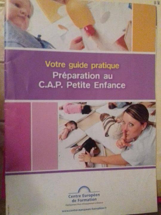 Livre De Cours Cap Petite Enfance
