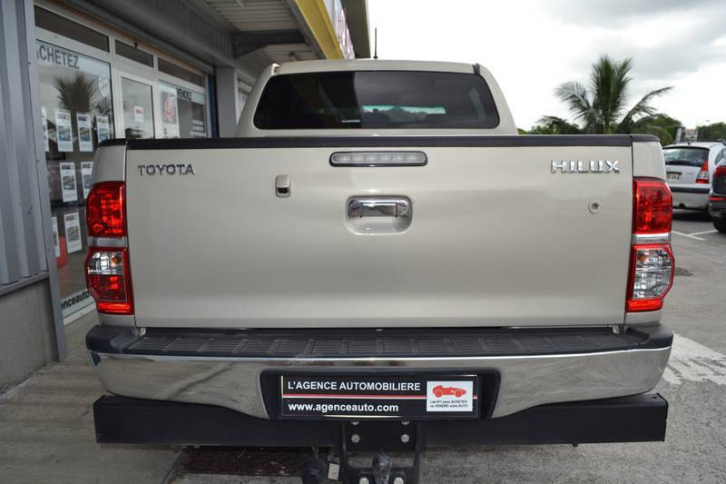 Toyota Hilux 144 D 4d Double Cabine Voitures Guadeloupe Cyphoma
