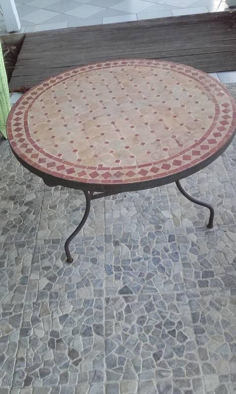 Table Fer Forge Exterieur - Annonce - Meubles Et Décoration Saint