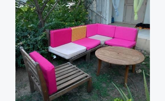 Salon de jardin bois - Mobilier et équipement d\'extérieur Saint ...
