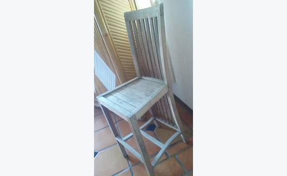 High Chair Teak Furniture And Decoration Saint Martin Cyphoma