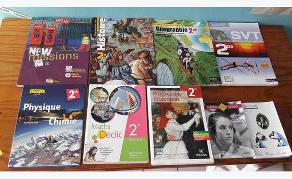 Livres du lyc e schoelcher annonce mat riel et livres scolaires fort de f - Lycee schoelcher fort de france ...