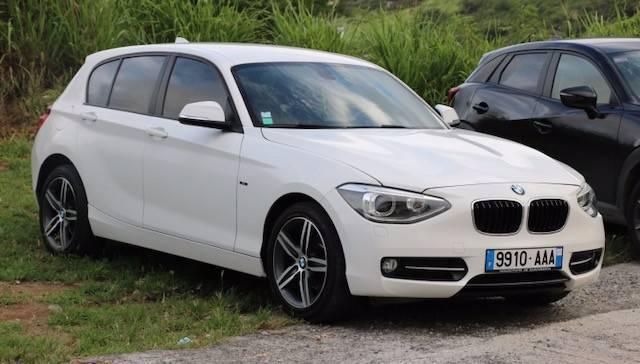 bmw serie 116i - voitures saint-martin • cyphoma