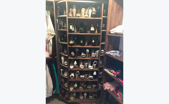 Meuble chaussure dressing rotatif annonce meubles et for Meuble 0 chaussures fly