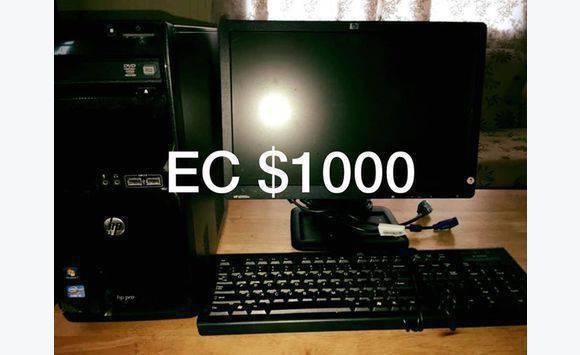 HP Desktop Computer I5 proceesor