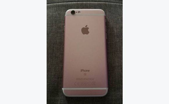 Iphone 6S 128 go Or Rose + accesoires