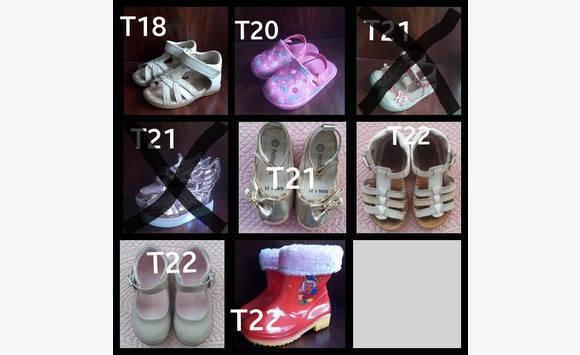 nice cheap best service new specials Chaussures bébé fille pointure 18/20/21/22.