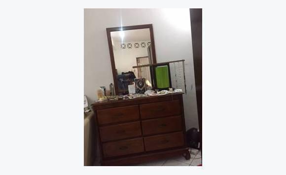 Chambre A Coucher Lit 2places Commode Miroir
