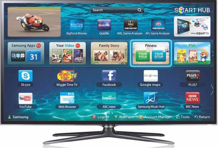 Spiksplinternieuw Samsung smart tv 52 inch 550 - Images - Sound Sint Maarten • Cyphoma OX-78