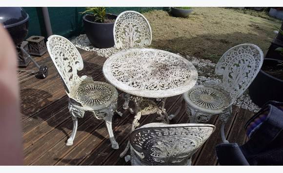 Ensemble de jardin annonce mobilier et quipement d - Mobilier jardin guadeloupe versailles ...