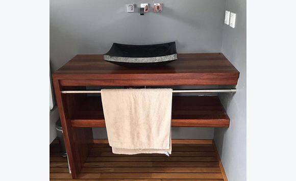 Conjunto de mobili rio de casa de banho an ncio m veis - Mobiliario de casa ...