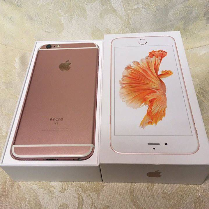 Apple Iphone 6s Plus 64gb Rose Gold Telephony Antigua And