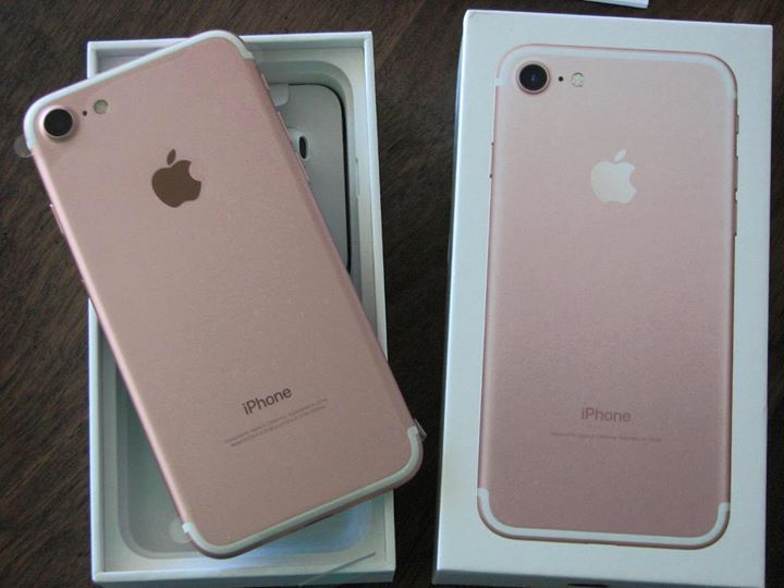 Iphone 7 rose gold used