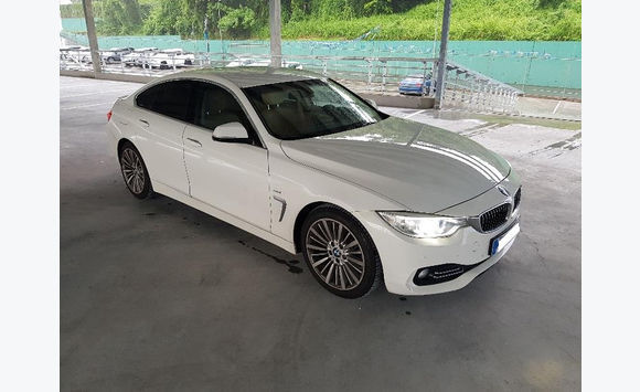bmw (f36) serie 4 gran coupe 420d 190 luxury
