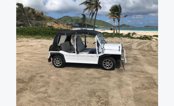 mini moke electrique voitures saint martin cyphoma. Black Bedroom Furniture Sets. Home Design Ideas