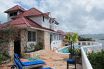 Waterfront 4 br villa with stand alone cottage