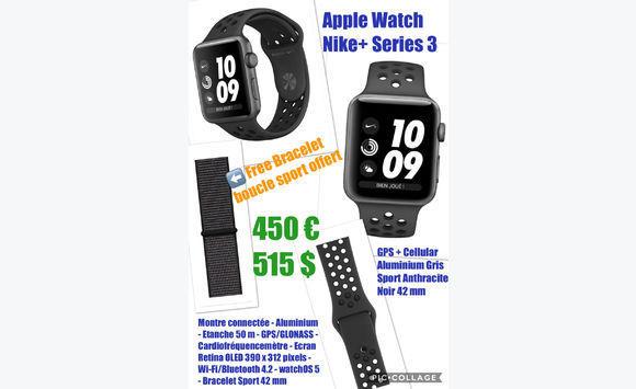 most popular half off factory price Apple Watch series 3 Nike