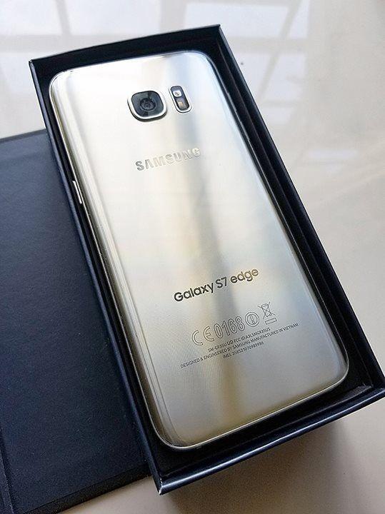 hot sale online d52f5 08c58 Samsung S7 Edge (Silver Titanium)