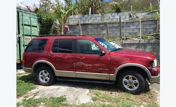 2002 ford explorer v8 - classified ad - cars philipsburg sint maarten