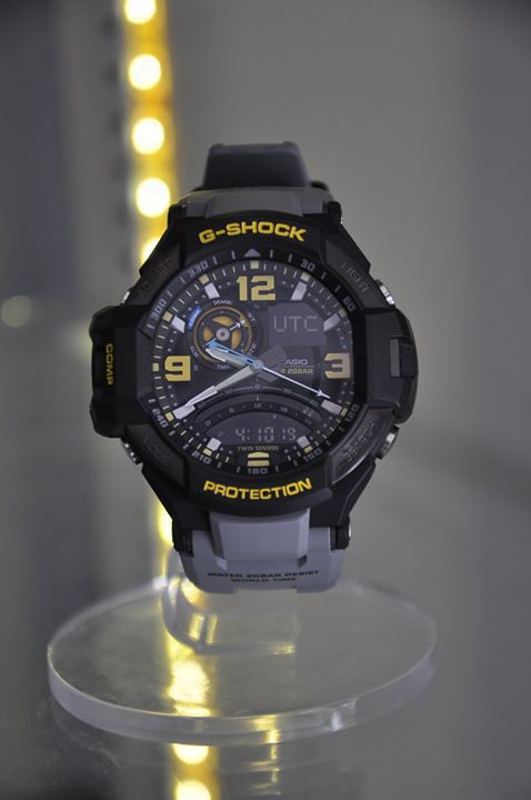hot sale online dc276 ffd3e Casio G-Shock GA-1000-8A Aviation Series Men's watch