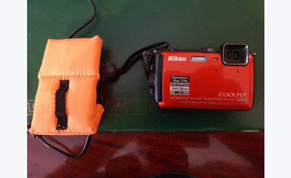 Nikon Coolpix AW130 Shock & Waterproof GPS Digital camera