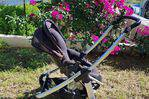 Stroller baby basket with cosy comfort