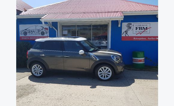 Mini Cooper Countryman S All4 Cars Saint Barthélemy Cyphoma