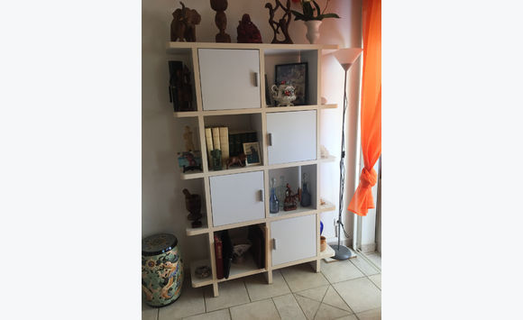 White wall cabinet - Classified ad - Furniture and Decoration Saint ...