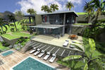 Lagoon front 1500 M2 ideal for a villa 4 Br SXM