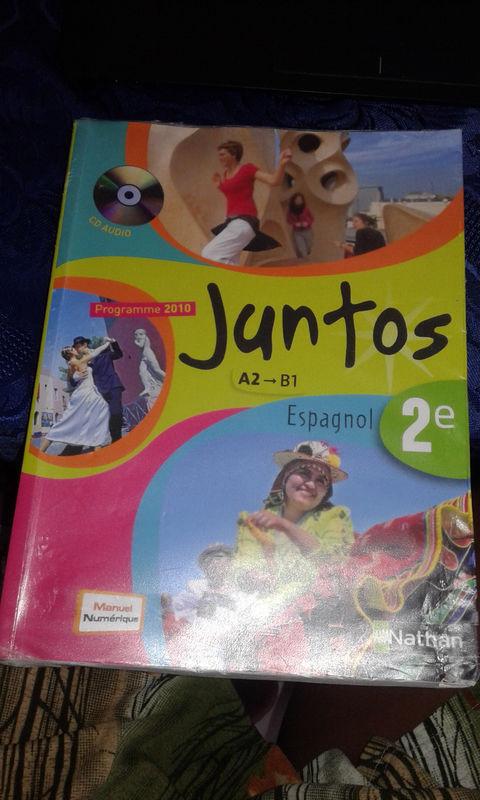 Livre Scolaire Espagnol Anglais 2nd
