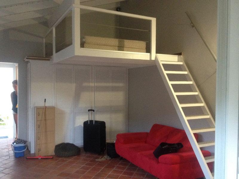 Rented studio mezzanine - €850 - Rentals Saint Martin • Cyphoma