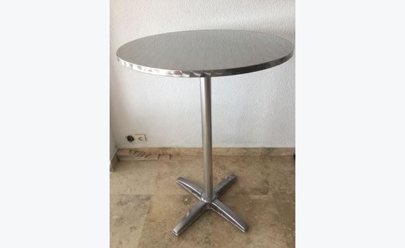 table haute bistrot - meubles et décoration saint-martin • cyphoma