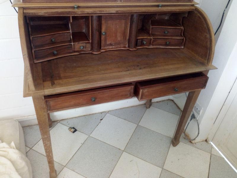 Petit bureau bois meubles et décoration saint martin u cyphoma