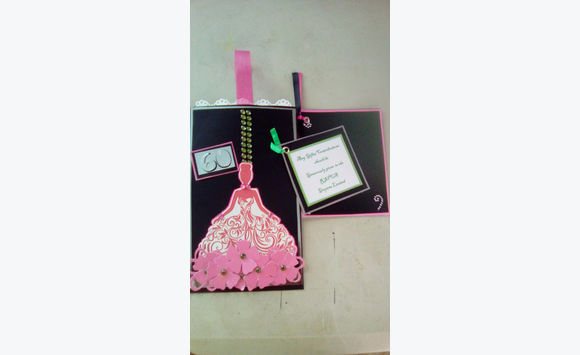 Handmade Paper Based Keepsake Cards