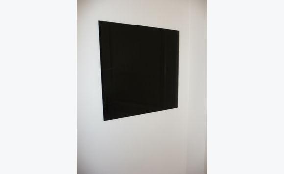 Tableau Mural Magnétique En Verre Noir Meubles Et Décoration