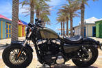 2016 Harley Sportster 1200cc Forty Eight 3500km