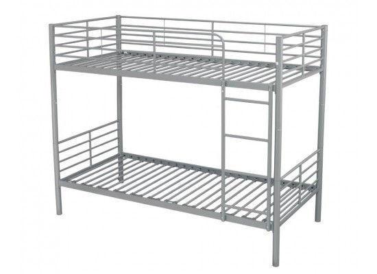 Single Metal Frame Bunk Bed Including Mattress Furniture And Decoration Saint Martin Cyphoma