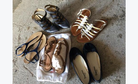 8b0acc7e5430 Lot shoes - Shoes Saint Martin • Cyphoma