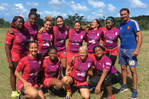 Recruiting women's rugby