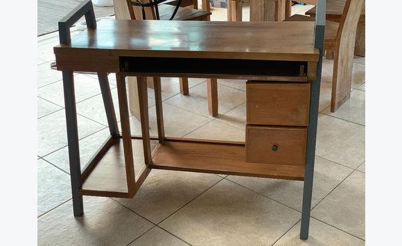 Bureau bois massif meubles et décoration saint martin u cyphoma
